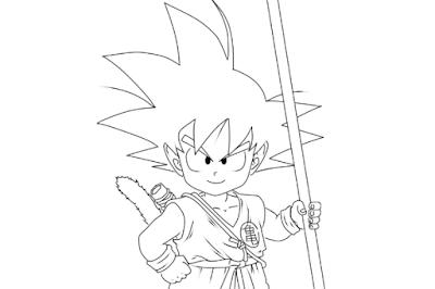 cover Goku Kid