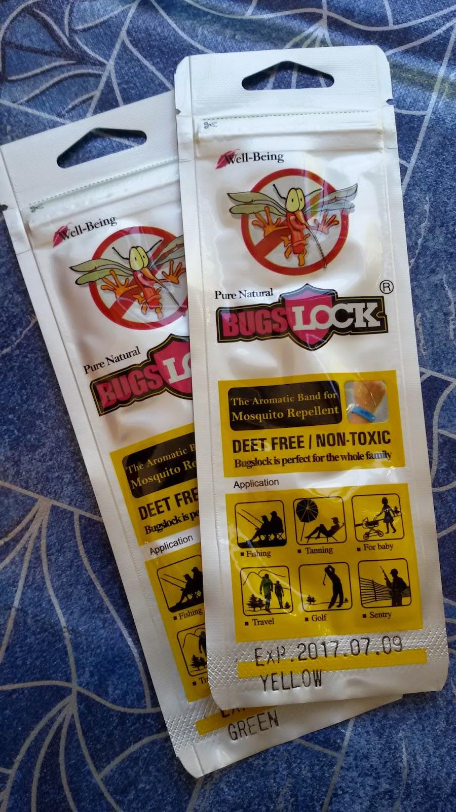 Bebas dari gangguan nyamuk dengan Bugslock Gelang Penghalau Nyamuk