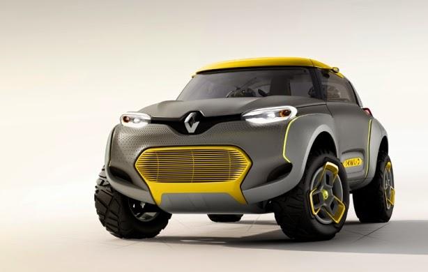 Mengenal Renault KWID, Mobil Off Road dengan Built-in Drone Quadcopter