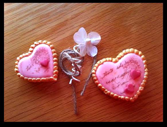 Galleta San Valentín fondant Dolce Sentire Aixa tortolitos decoración