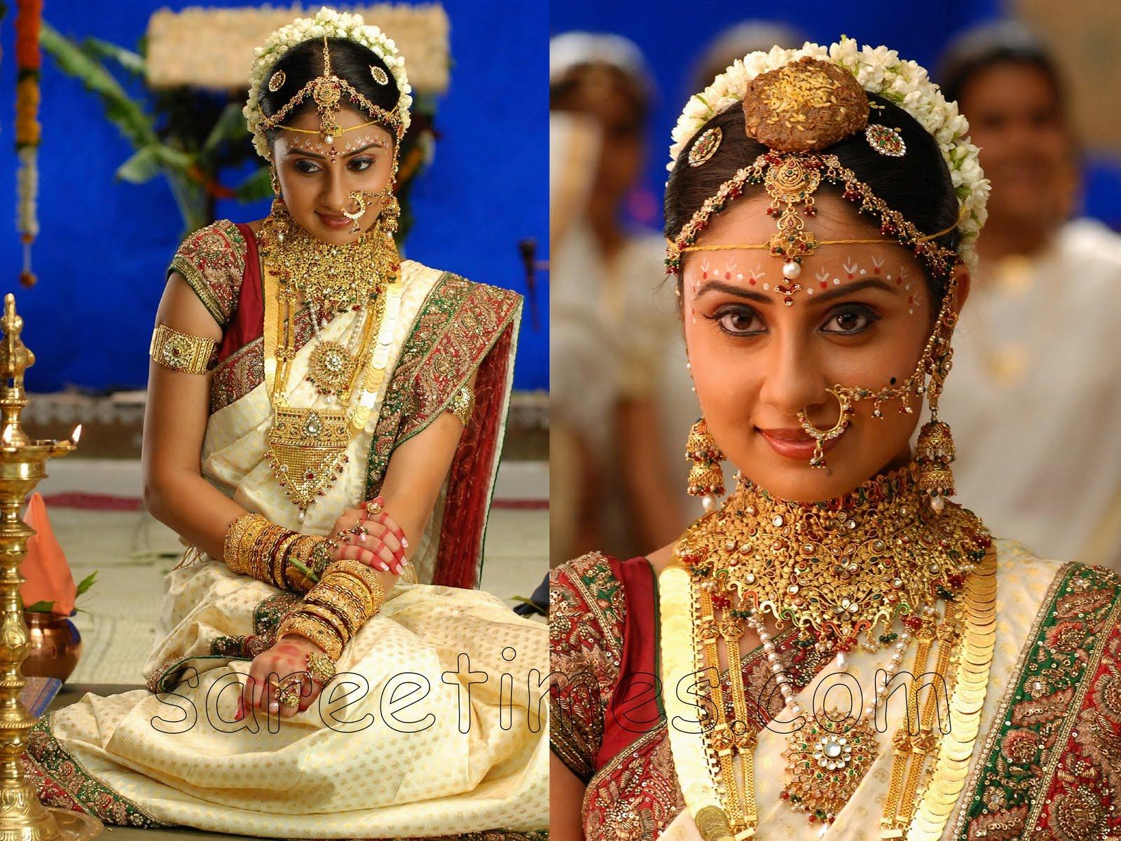 South Indian Wedding Sarees 2011