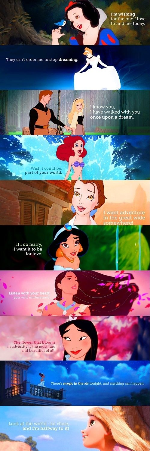Disney Princess Catchphrases filmprincesses.filminspector.com