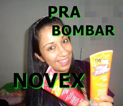 shampoo bomba Novex Pra Bombar