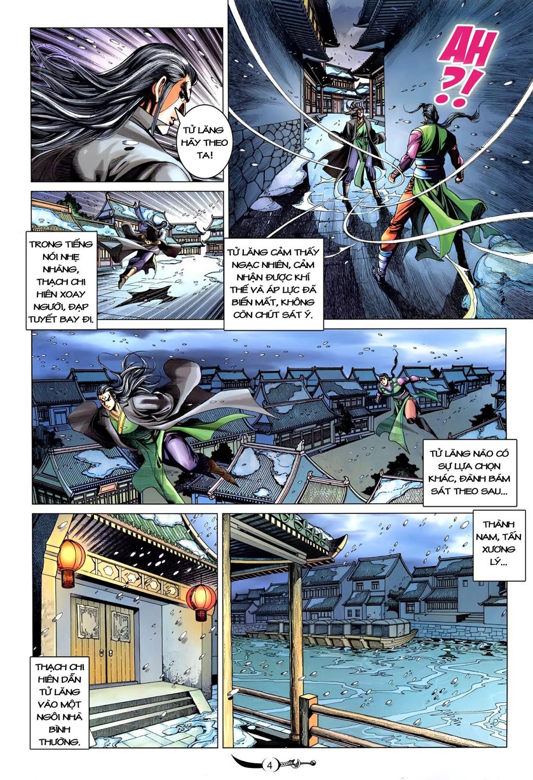 Đại Đường Song Long Truyện chap 216 - Trang 6