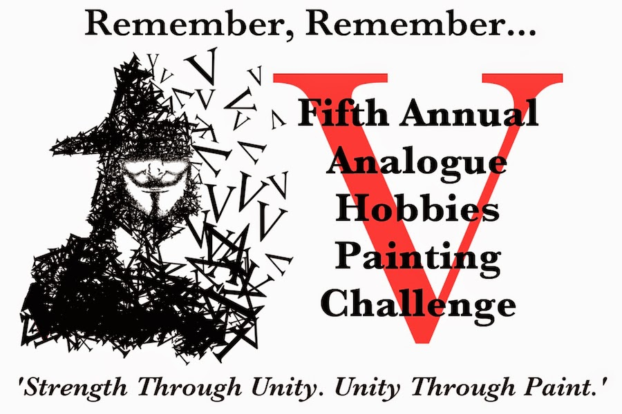 The Vth Analogue Hobbies Painting Challenge