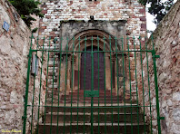 Portalada romànica de Sant Fèlix de Canovelles. Autor: Carlos Albacete