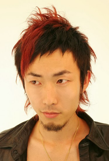 Asian Mullet Hairstyles
