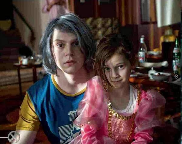 Pietro (Mercurio) y Wanda (La Bruja Escarlata) en X-Men: Días del Futuro Pasado