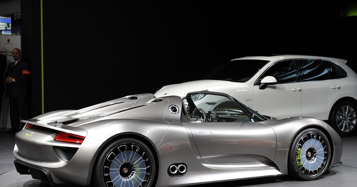 One Track Mind Porsche 918 Spyder Hybrid