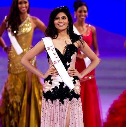 India's Miss Vanya Mishra