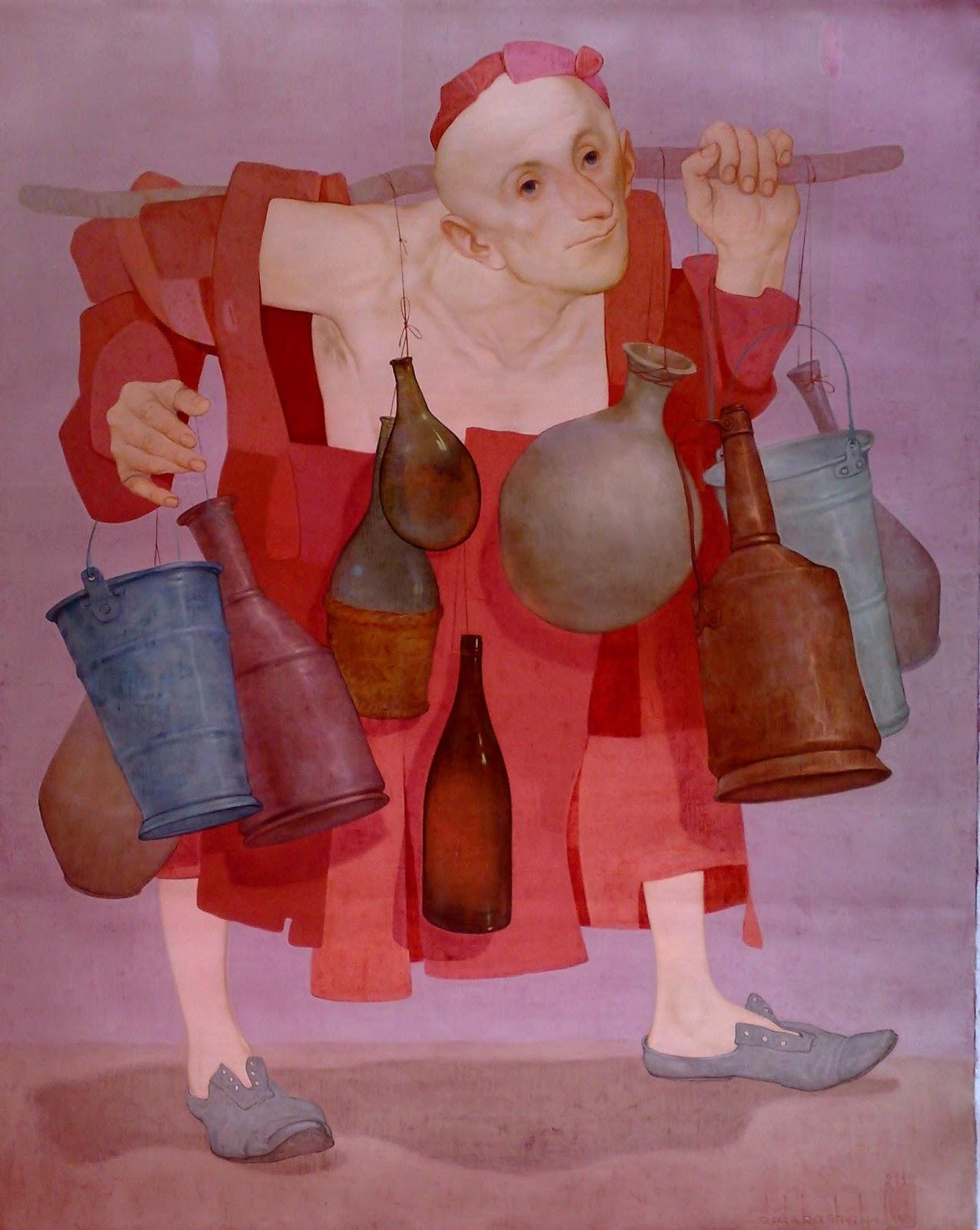 Zviad Gogolauri, Water seller
