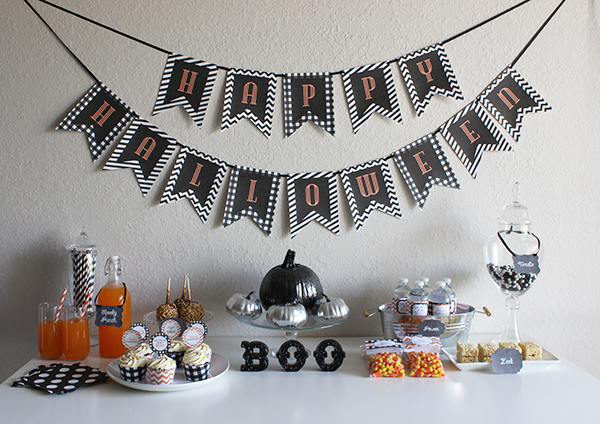Parsimonious Swank: Giant Post of Halloween Printables! - Printable Halloween Decorations