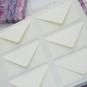 Custom Envelope Guest Book