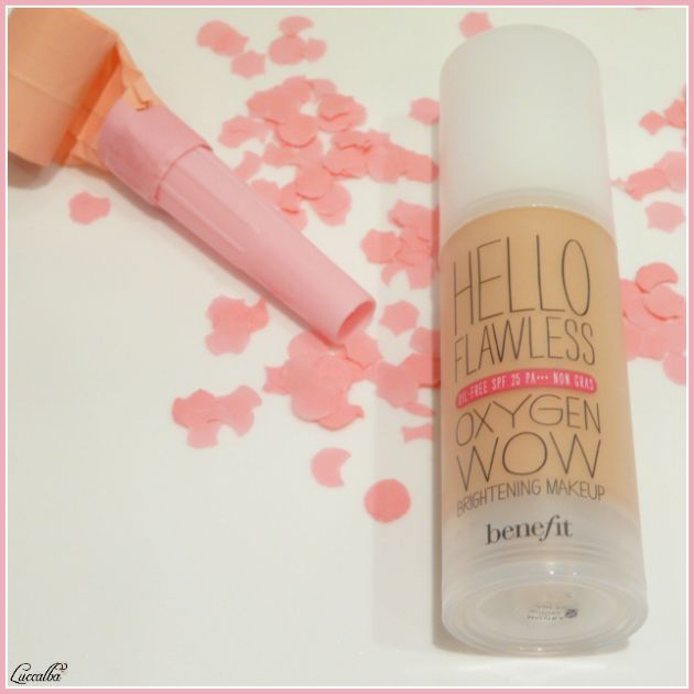 Hello Flawless Oxygen Wow SPF 25 de Benefit
