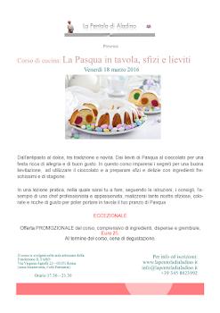Corso di cucina a Roma