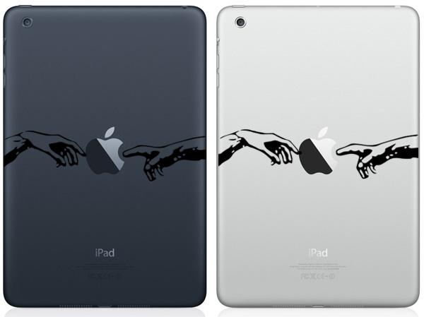 The creation of Adam iPad Mini Decals