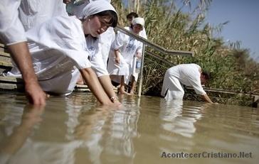 Prohíben bautismos en el río Jordán