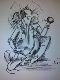 Bhagwan Ganesh Painting
