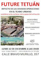 Future Tetuán. Impacto de las grandes operaciones en el tejido urbano