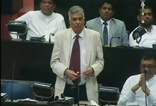 Prime Minister Ranil Slams Media in Parliament