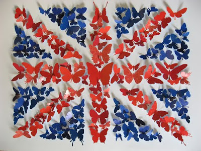 paper butterflies by joseph scissorhands