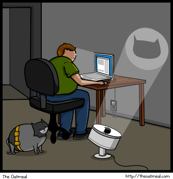 cat vs internet, funny pictures, funny cat pictures, comics, the oatmeal