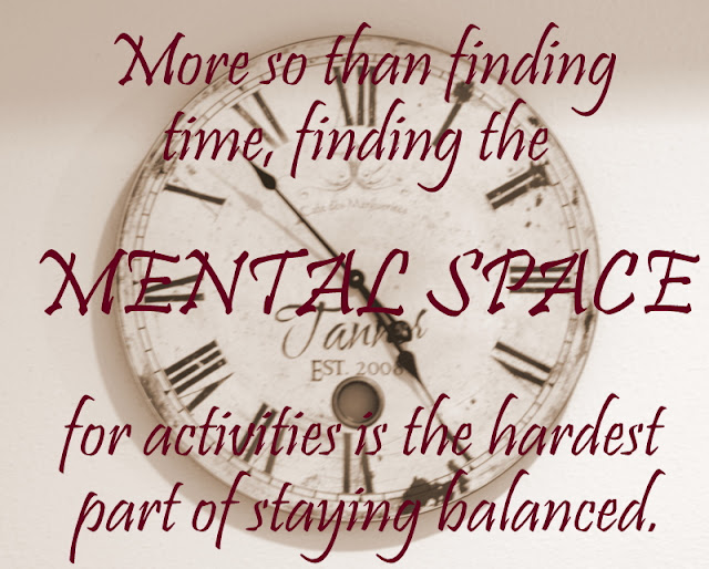 Mental Space Time Management