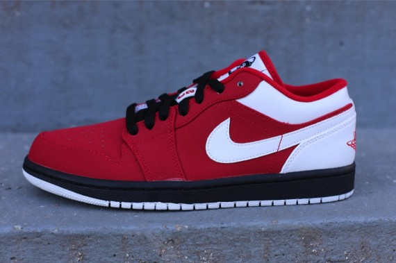 Air Jordan 1 Low – Gym Red – White – Black  5010d1fa8d