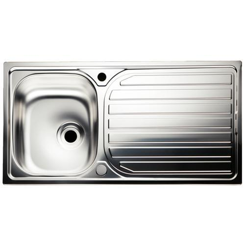 Single Stainless Sink : Single bowl stainless steel sink