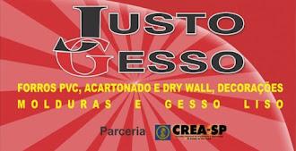 JUSTO GESSO Rua, João Paixão 100 Avaré SP Tels: (14)3733-7392/ 9707-8420