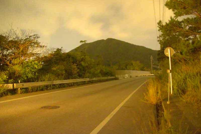 Mt. Mejiyama, Okinawa, HWY 71