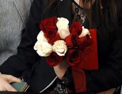 Ramos de rosas bicolor para civil