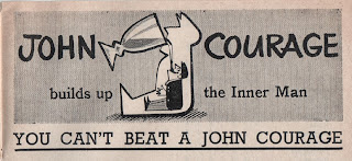Vintage advertisement for John Courage, c.1960's