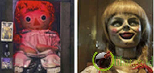 Boneka horor film 'The Conjuring' di Occult Museum, AS