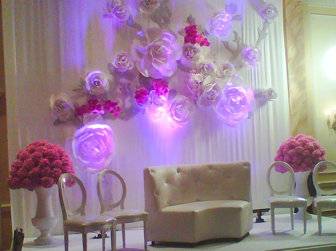 Цветы в декоре стен своими руками 972