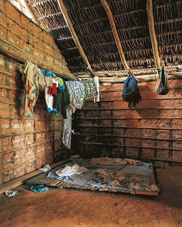 16 Children & Their Bedrooms From Around the World - Ahkohxet, 8, Amazonia, Brazil - Ahkohxet's Bed