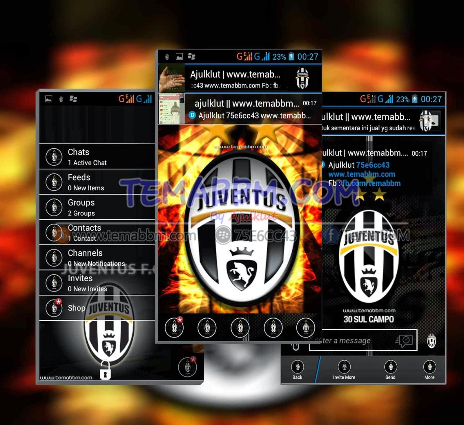 Tema BBM Juventus
