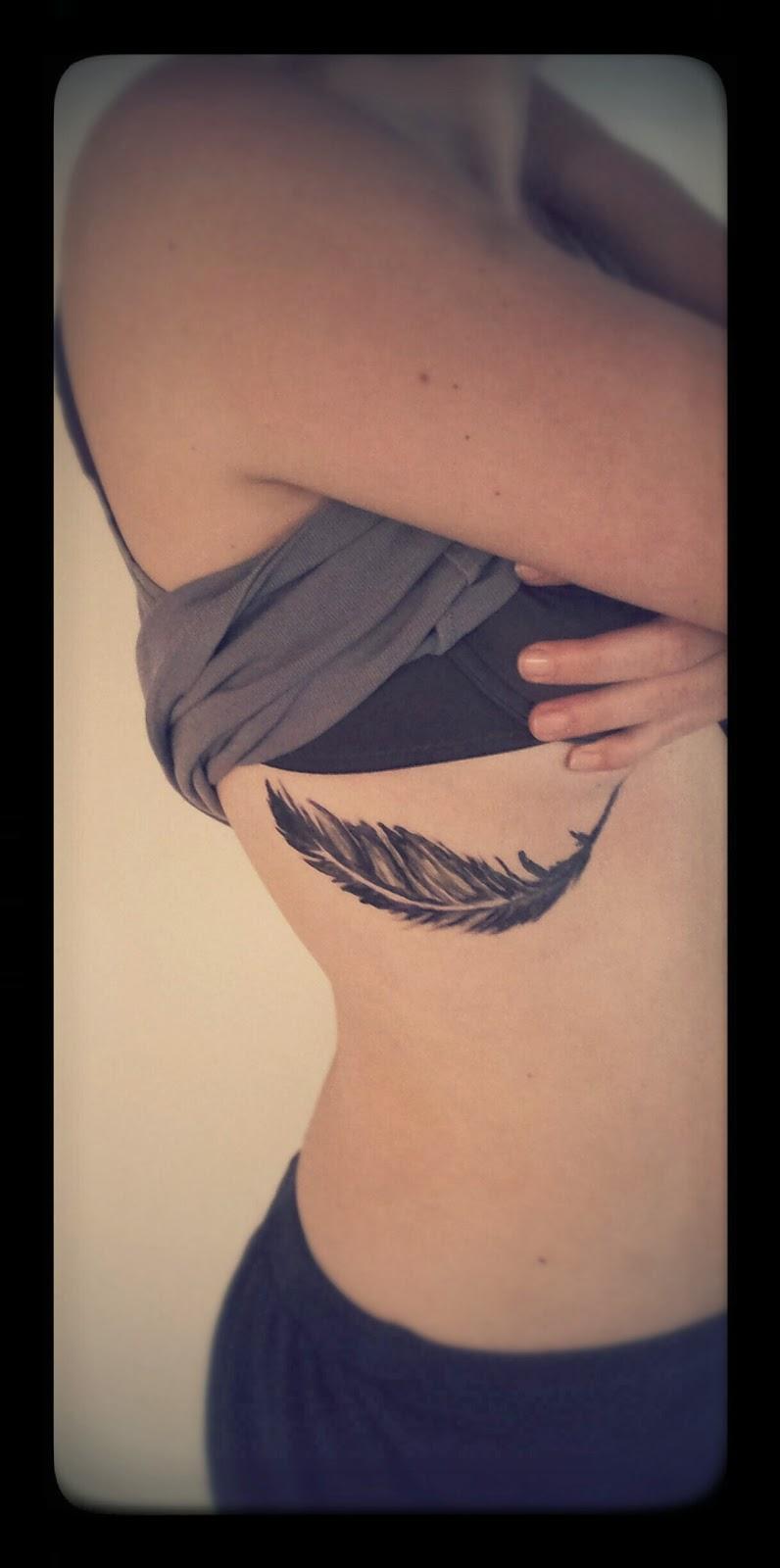 Tatouage noir à l'encre Australienne Atelier Marty Tatoo - tatouage temporaire encre