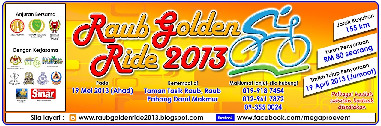 Raub Golden Ride 2013