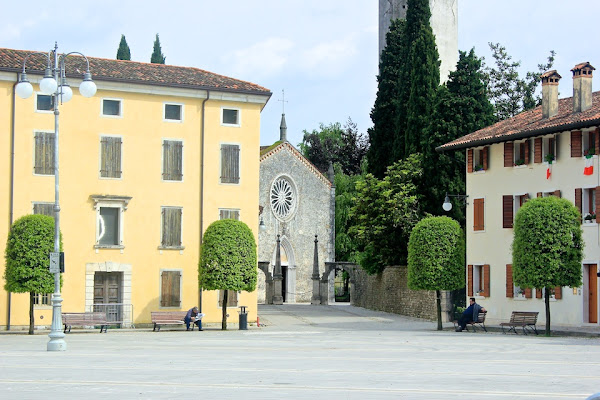 cathedral in Maniago, Italy