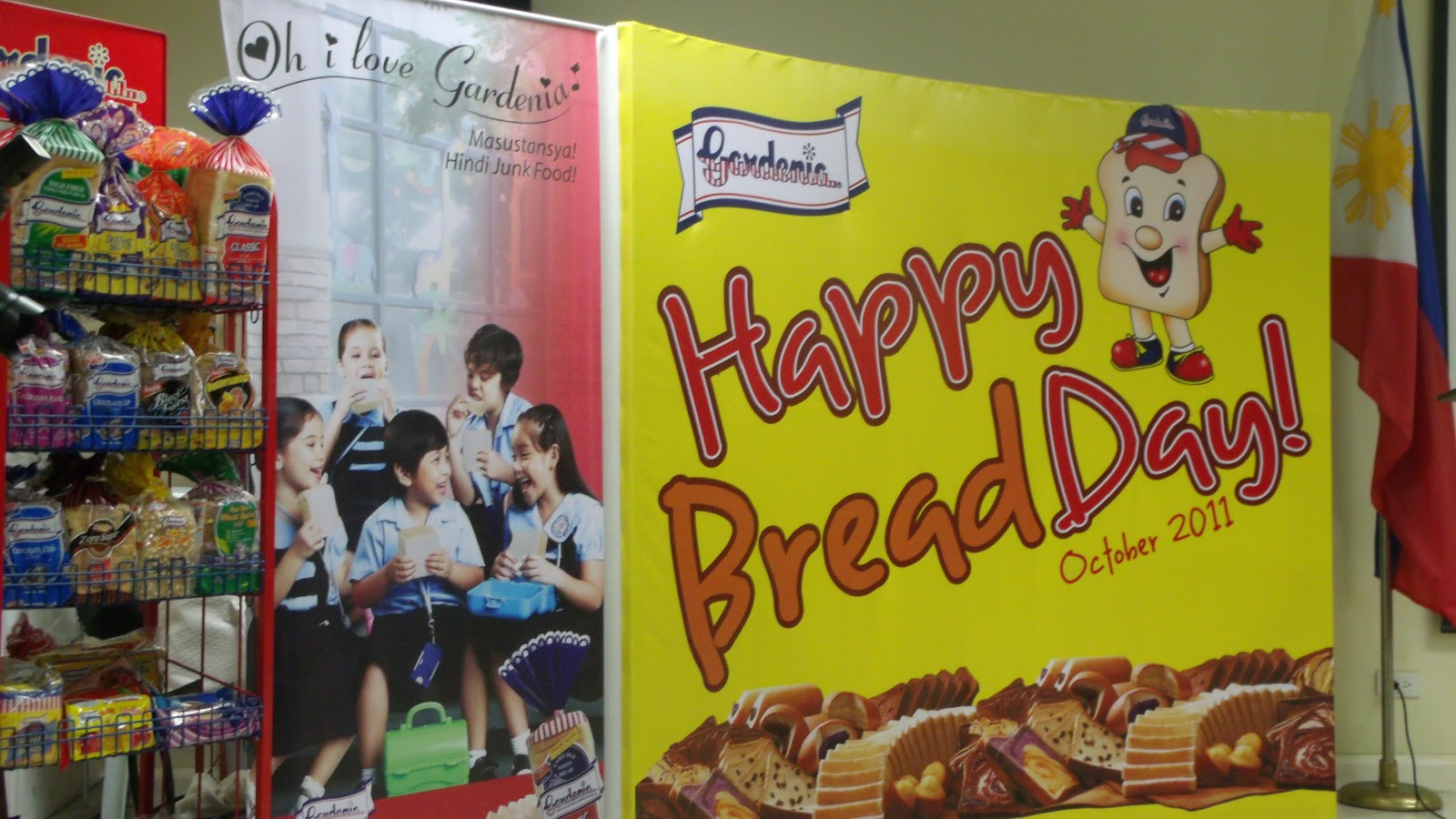 gardenia bakeries philippines Seeing the potential of the unpacked breads industry in the philippines, gardenia bakeries philippines inc decided to put up a bakeshop that resembles those found in small communities and.