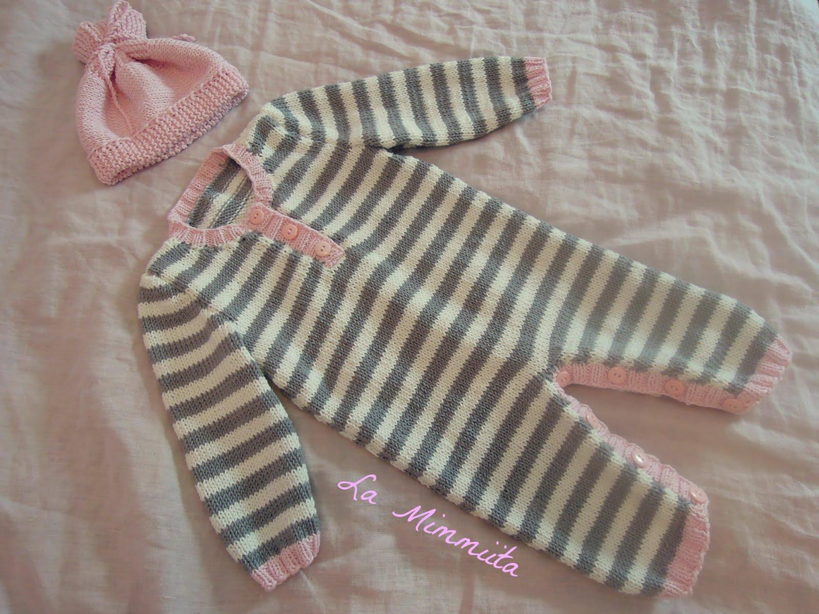 Helppoja neuleohjeita vauvalle