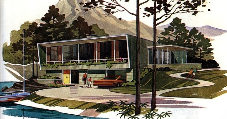 Mid century modern house plans for pleasure ayanahouse for Building a mid century modern home