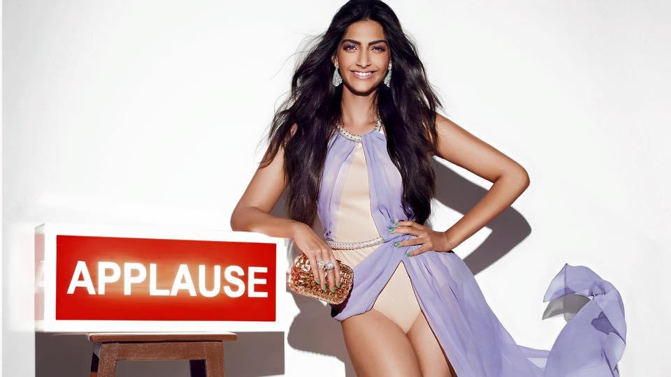 Sonam Kapoor Sexy Style Image