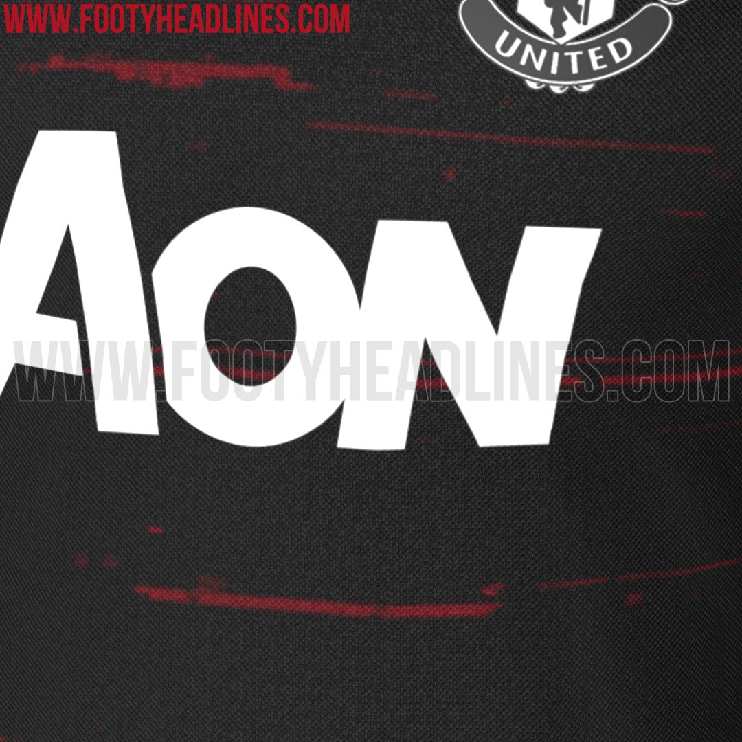 Design t shirt manchester united - What Do You Think Of The Black And Red Manchester United 16 17 Pre Match Shirt Let Us Know In The Comments Below