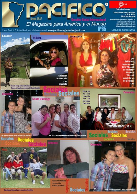Revista Pacífico Nº 65 Socila Internacional