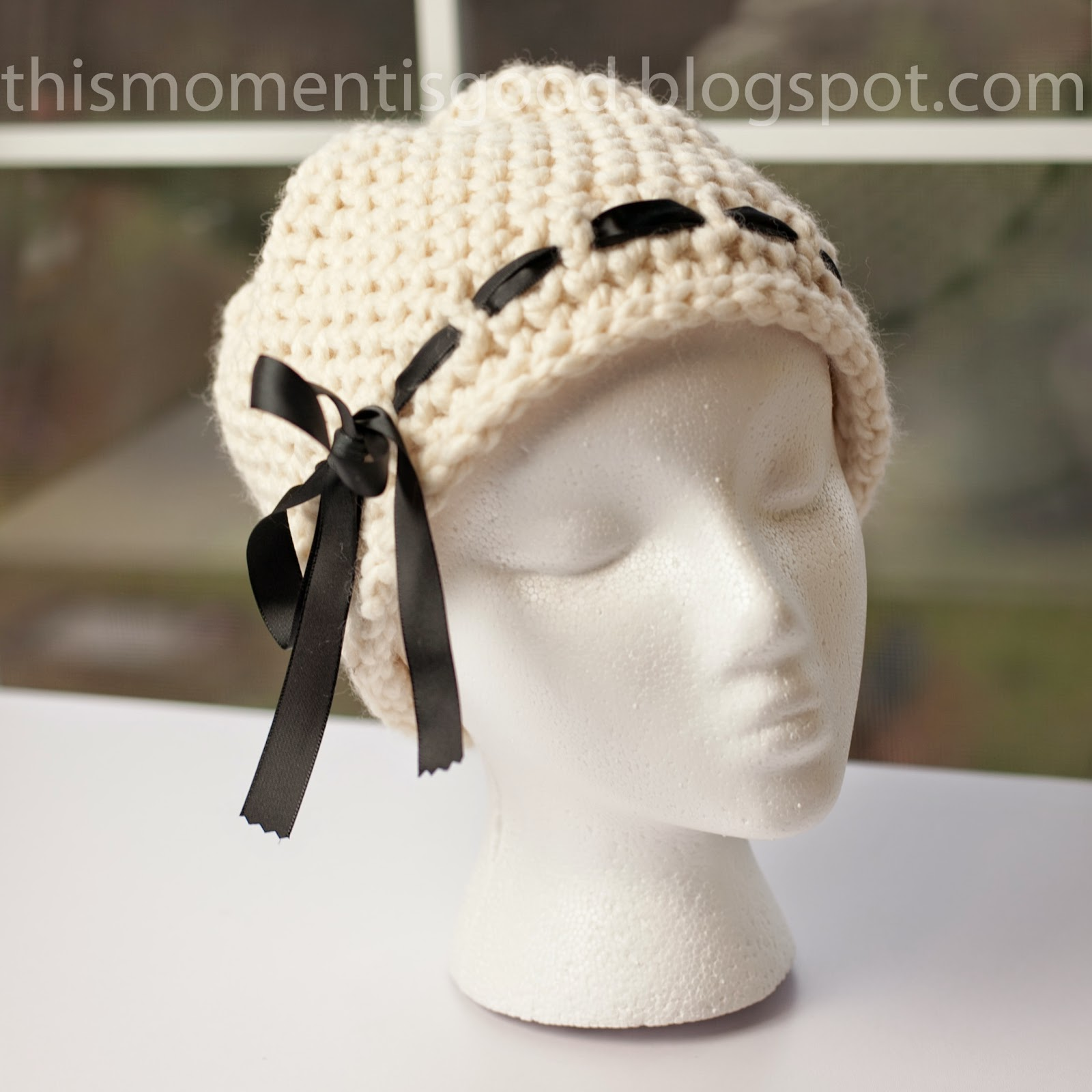 Loom Knit Elegant Ladies Hat Pattern Loom Knitting By This Moment