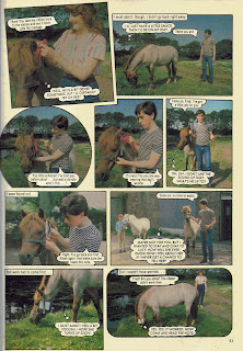 Horsing Around photo story from Jackie annual '84, starring Alan Cumming 4