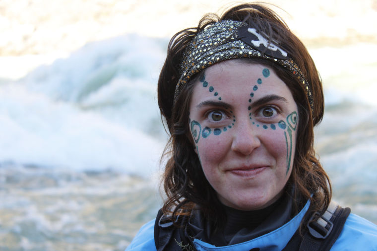Kaitlin Kenney prior to running Hermit on her birthday, January 6 ...