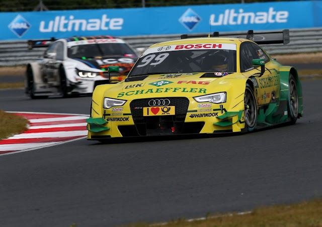 DTM: Sensational pole position for Mike Rockenfeller in Moscow qualifying 2
